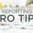 5 Ways To Save Time In Your Monthly Reporting Cycle